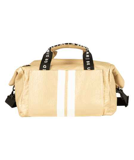 10dags small weekend bag gold