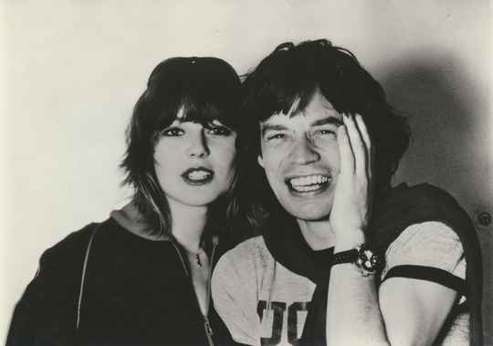 Nadine Expert / Mick Jagger (The Rolling Stones) - 1970s [Holland] - Publicity Photocard