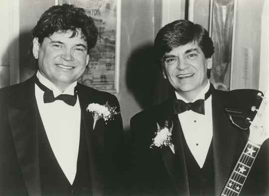 The Everly Brothers - 1980s [Holland] - Publicity Photocard