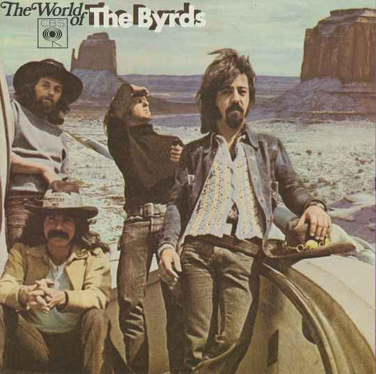 The Byrds - The World Of The Byrds - 1970 [Holland] - Brochure