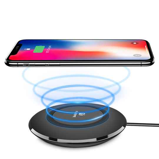 Wireless Charging Dock FLOVEME LED Path Light Qi draadloze oplader. Promo filmpje!