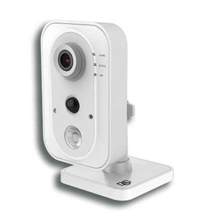 2.1 MP, WIFI, binnen IR cube camera met SD card (16GB) & PSU