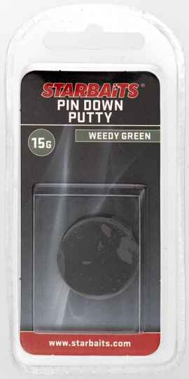 STARBAITS PIN DOWN PUTTY WEEDY GREEN (15G)