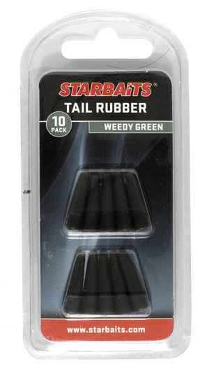 STARBAITS TAIL RUBBER WEEDY GREEN