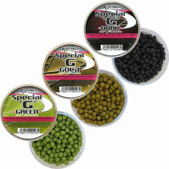 BAIT-TECH SPECIAL G SOFT HOOKERS 6MM