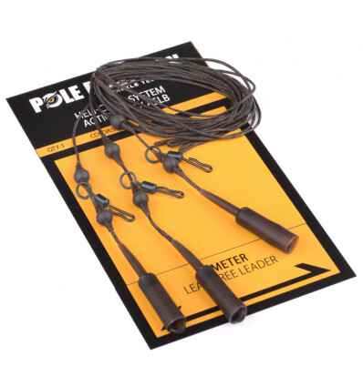 POLE POSITION HELI-CHOD ACTION PACK 65LB WEED