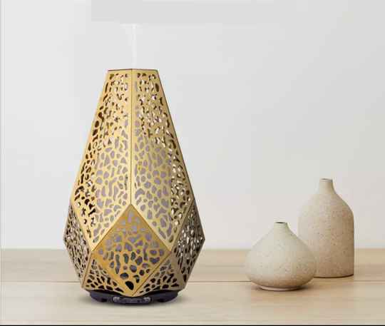 Aroma Diffuser Metal Gold