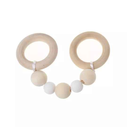 Baby teething rings wood