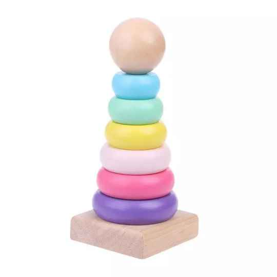 Baby rainbow ring tower