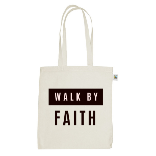 Martina // Fairtrade Canvas Bag // Walk by Faith