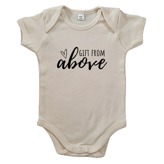 Gift from Above // Ecru Romper