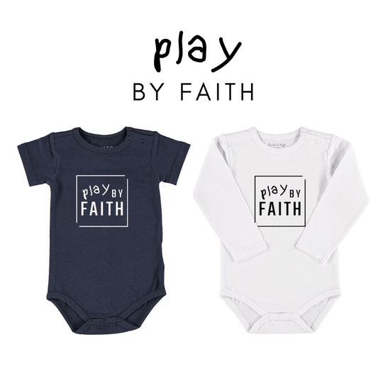 Play By Faith // Baby Romper