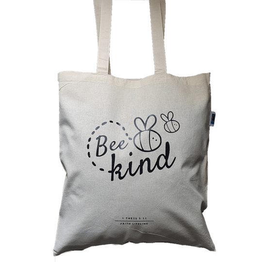 Bee Kind // Fairtrade Canvas Bag