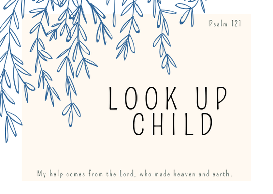 Look Up Child // Postcard // A6