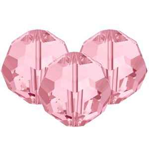Swarovski Faceted Rounds (5000) 8mm Light Rose