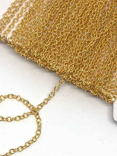 Open Chain / Gold 2mm