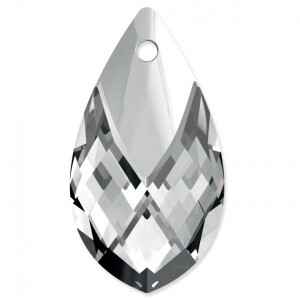 Swarovski Pear Pendant with metalized top 6565 18mm Crystal