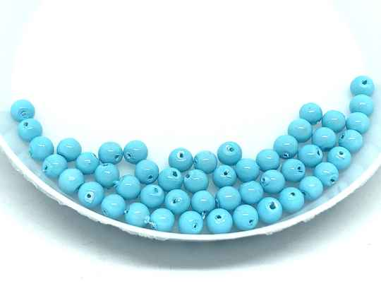 Round Beads Glass 3mm