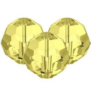Swarovski Faceted Rounds (5000) 8mm Jonquil Yellow