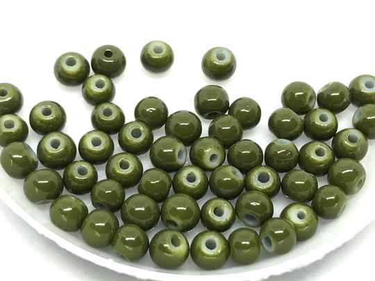 Round Beads Glass 4mm