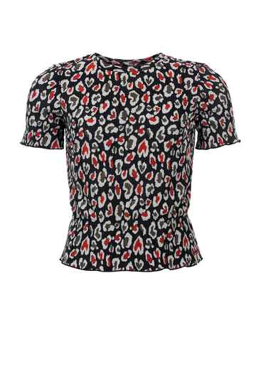 Looxs Revolution Looxs 10Sixteen Crinkle Top AOP