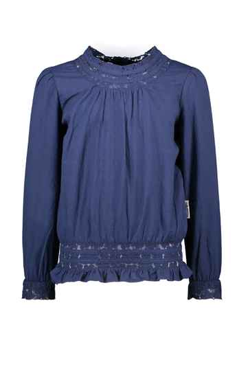 B Nosy  Blouse With Lace Tape