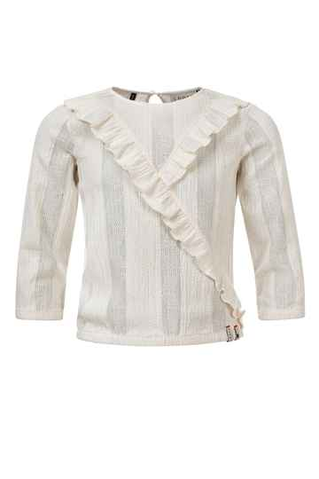 Looxs Revolution Looxs 10Sixteen Off-White Blouse Top
