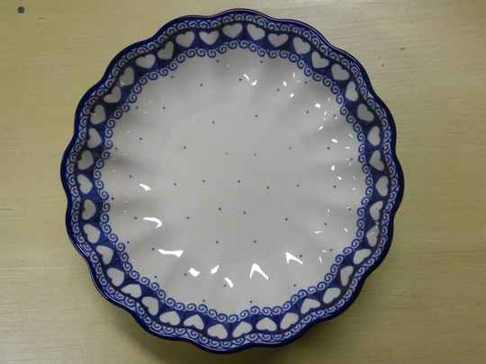 Well up bowl White valentine