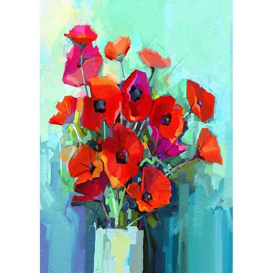 Poppies A3
