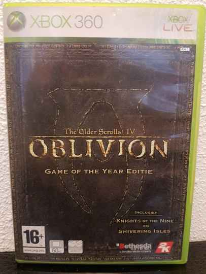 The elder scrolls IV - Oblivion XBox 360