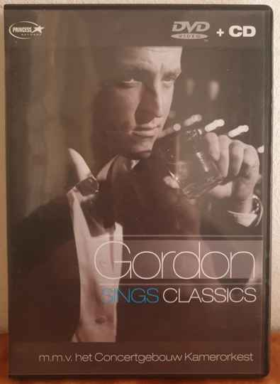 Gordon sings classics;  video + cd