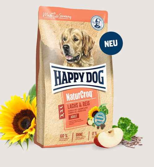 Happy Dog Premium - NaturCroq Lachs & Reis