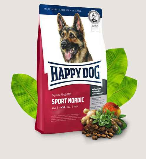 Happy Dog Supreme Fit&Well - Adult Sport Nordic