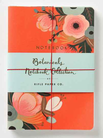 Botanicals Notebook Collection - Set 3 Notebooks