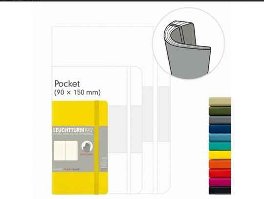 LEUCHTTURM1917 Notebook (A6) Pocket softcover