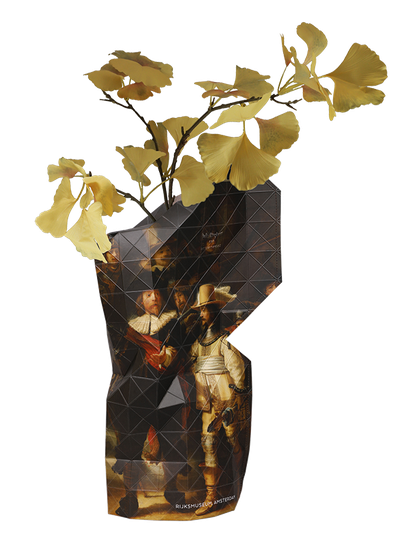 Paper Vase Cover - Rembrandt The Nightwatch