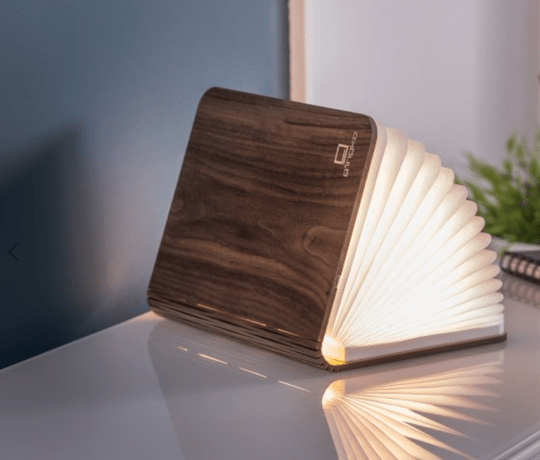 Smart Book Light Walnut LED