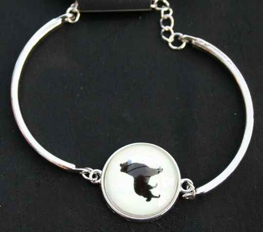 Armband Glow in the dark hond