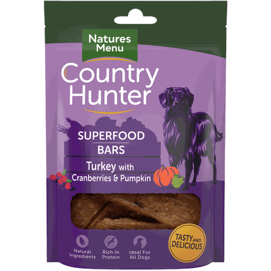 Country Hunter Superfood Bars Turkey 100 gram