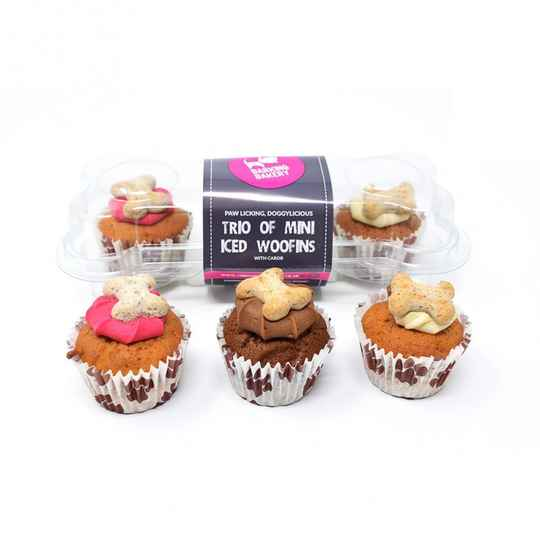 The Barking Bakery Mini Iced Woofins Mixed