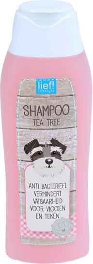 Lief! Shampoo anti bacteriël tea tree 300 ml