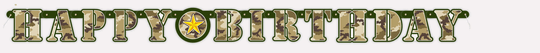 Camouflage Banner