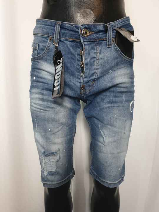 HS18. Shorts Jeans   Blauw Icon2