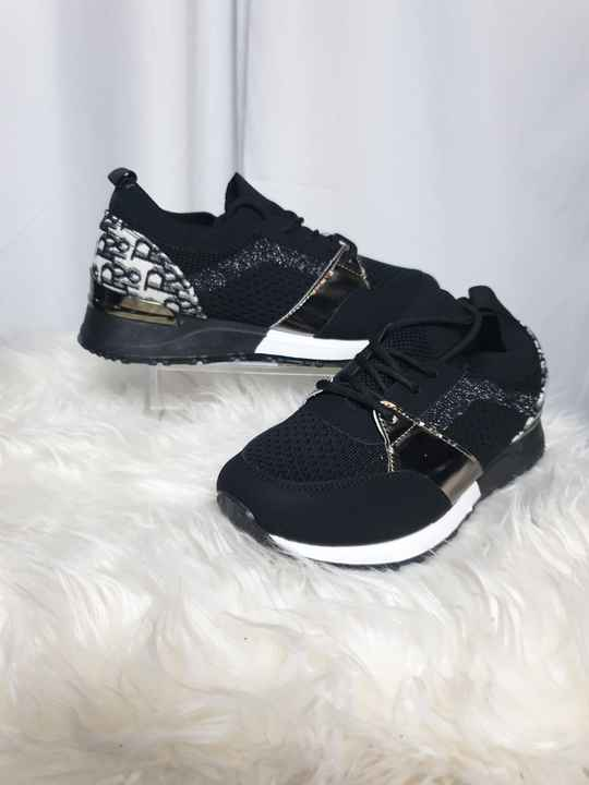 SS6. SNEAKERS ZWART LOOK A LIKE DIOR