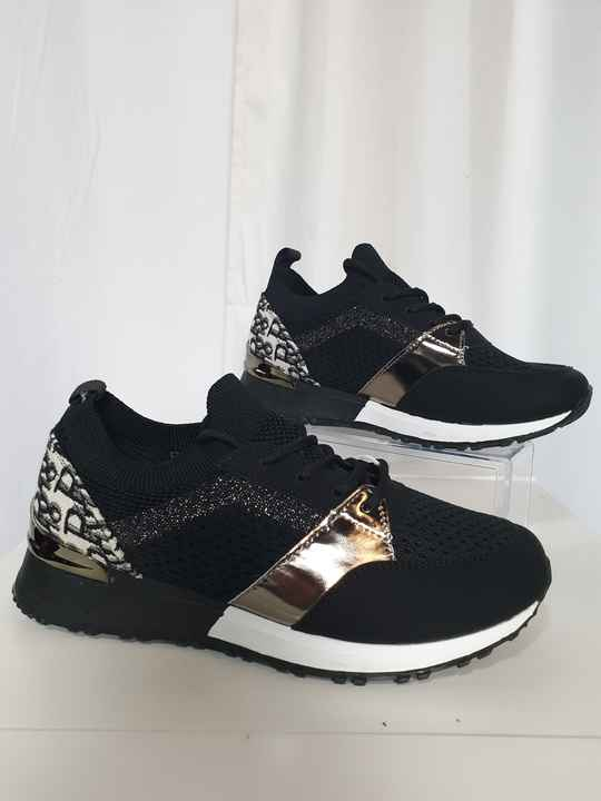 SS6. Sneakers instappers Look a Like Dior | Zwart (37-38)