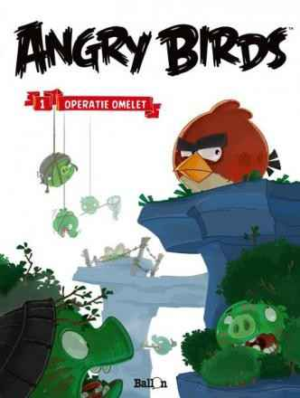 1. Operatie omelet - Angry Birds