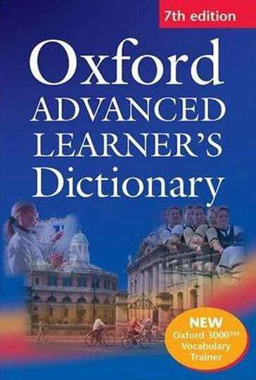 Oxford Advanced learn's dictionary - Oxford