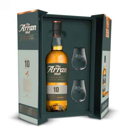 The Arran 10 Years 0,7L giftpack