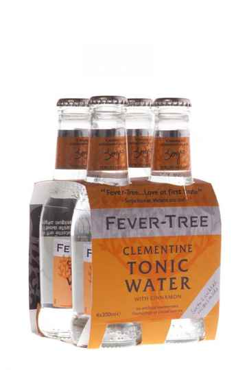 Fever Tree Clementine Tonic Water 4x20 cl (oranje)