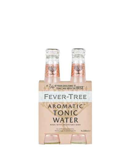 Fever Tree Aromatic Tonic Water 4x20cl (Roze)